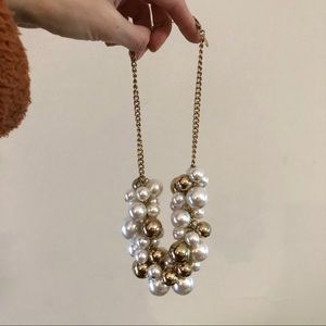 Express Chunky Pearl Necklace